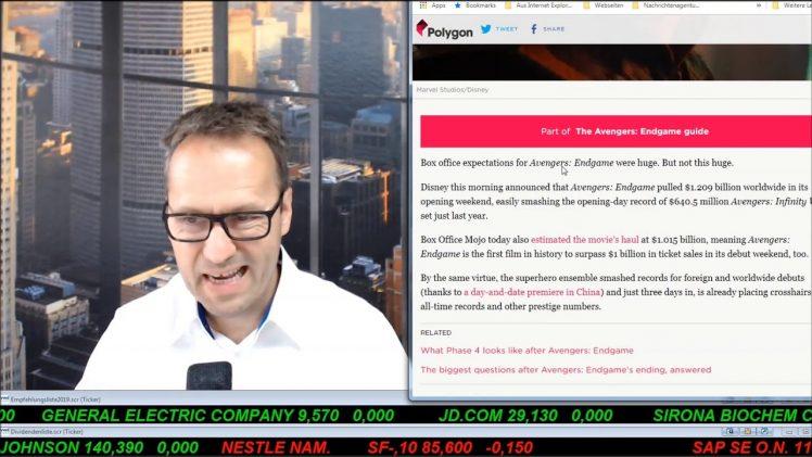 SmallCap-Investor Talk 894 über DAX, Dow, Gold, LyondellBasell, Disney, bet-at-home, …