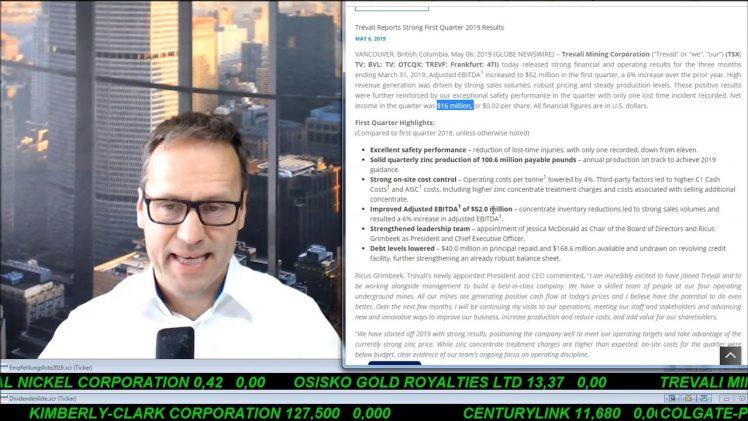 SmallCap-Investor Talk 895 über DAX, Trump, Gold, Öl, EnWave, Trevali, K92 Mining