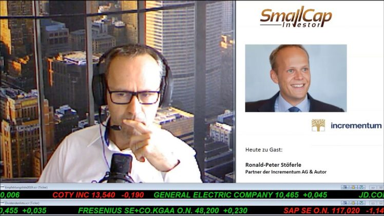 "SmallCap-Investor Interview mit Ronald-Peter Stöferle, Autor des Goldreports ""In GOLD we TRUST"""