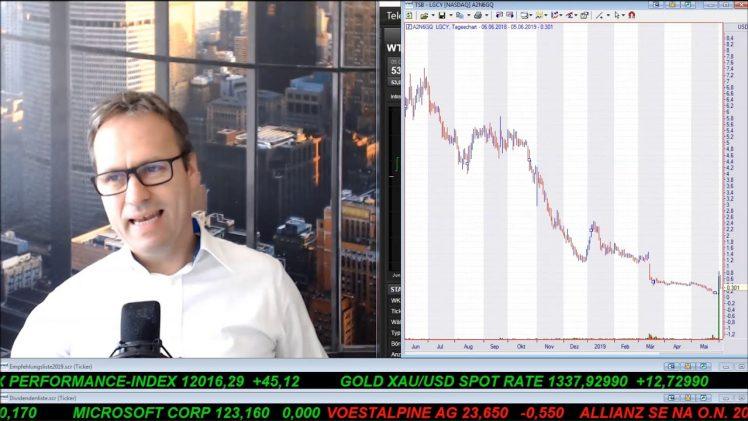 SmallCap-Investor Talk 906 über DAX, Gold, Silber, Legacy, Roan, Sirona, Benchmark