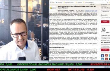 SmallCap-Investor Talk 909 über Gold, Trevali und Sirona