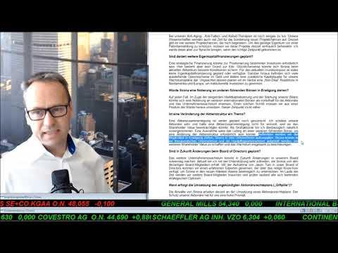 SmallCap-investor Talk 921 über Gold, Goldaktien und Sirona