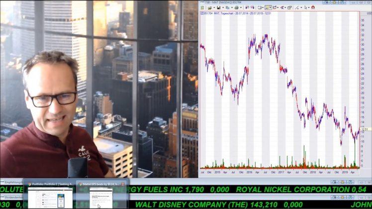SmallCap-Investor Talk 927 über DAX, Zykliker, Gold, Goldaktien und Mattel