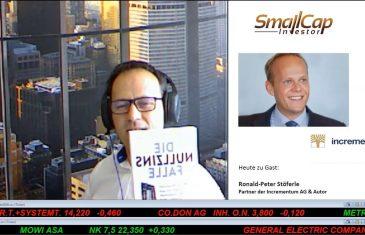 """SmallCap-Investor Interview mit Ronald Stöferle, Autor des Buches """"Die Nullzinsfalle"""" – Teil 2"""