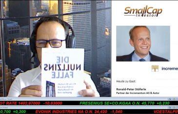 """SmallCap-Investor Interview mit Ronald Stöferle, Autor des Buches """"Die Nullzinsfalle"""" – Teil 1"""