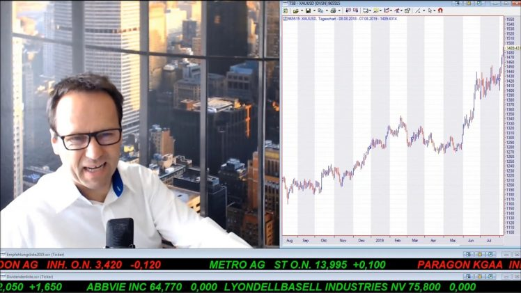 SmallCap-Investor Talk 931 über DAX, Dow, Anleihen, Gold, Silber, Great Panther, Fossil