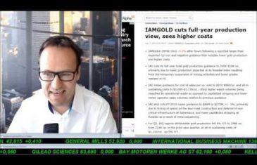 SmallCap-Investor Talk 932 über DAX, Gold, Silber, First Majestic, IAMGold, CenturyLink, Ölwerte,…
