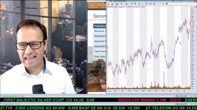 SmallCap-Investor Talk 933 über Dow, Mattel, Medical Facilities, Bayer, Gold, Goldminenaktien