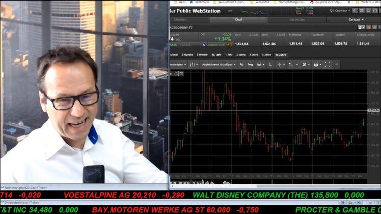 SmallCap-Investor Talk 934 über Dax, Konjunktur, Proteste, Sentiment, Gold und Goldstrategie