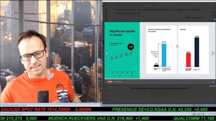 SmallCap-Investor Talk 936 über DAX, Dow, Gold, GDX, GE, MoGo, Nvidia, Canopy, …