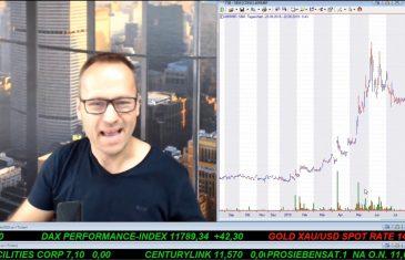 SmallCap-Investor Talk 939 über DAX, Dow, Gold, K92, Sirona, Carl Data und Cannabis
