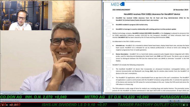 SmallCap-Investor Interview mit David Groberman, CEO und Co-Founder von HeraMed (WKN: A2PQND)