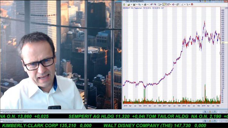 SmallCap-Investor Talk 978 über DAX, Dow, Gold, Boeing, FACC, Semperit, Unilever, …