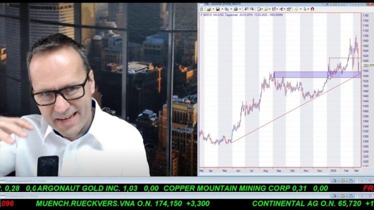 SmallCap-Investor Talk 1000 über DAX, Dow, Gold und Aktienkäufe