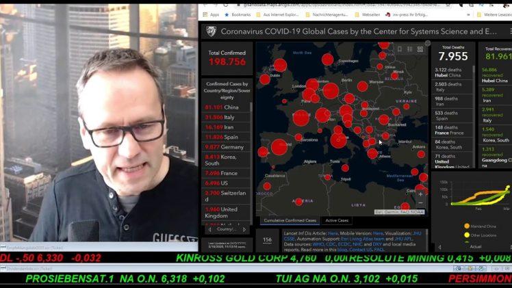 SmallCap-Investor Talk 1003, Virus, DAX, Dow, Gold und div. Käufe