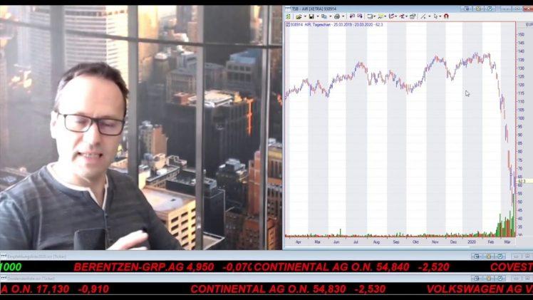 SmallCap-Investor Talk 1006 über Virus, DAX, Dow und Gold