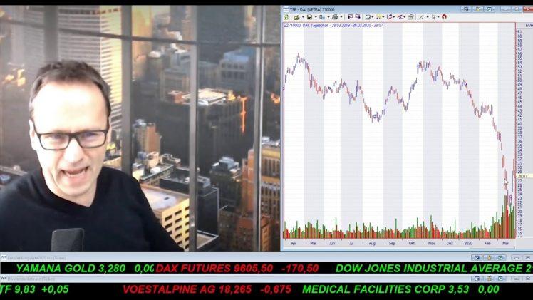 SmallCap-Investor Talk 1008 über DAX, Dow, Gold und Rohstoffwerte