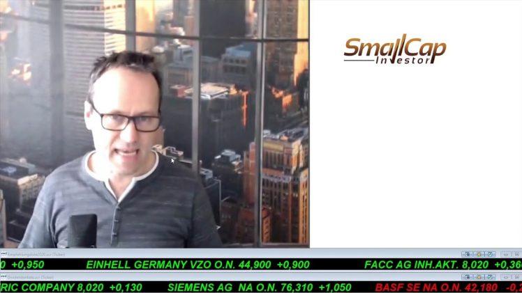 SmallCap-Investor Talk 1012 über DAX, Dow, Sirona, AT&T, ProSieben