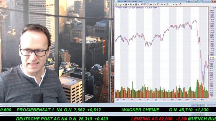 SmallCap-Investor Talk 1016 über DAX, Dow, ProSieben, Carl Data