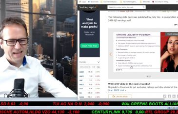 SmallCap-Investor Talk 1029 über DAX, Dow, Coty, Pro7 und TUI