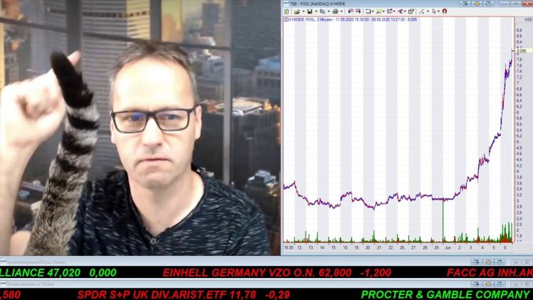 SmallCap-Investor Talk 1042 über DAX, Dow, Fossil, Coty, Amazon