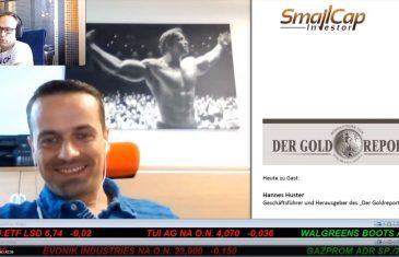 """SmallCap-Investor Interview mit Hannes Huster, Herausgeber des """"Der Goldreport"""""""