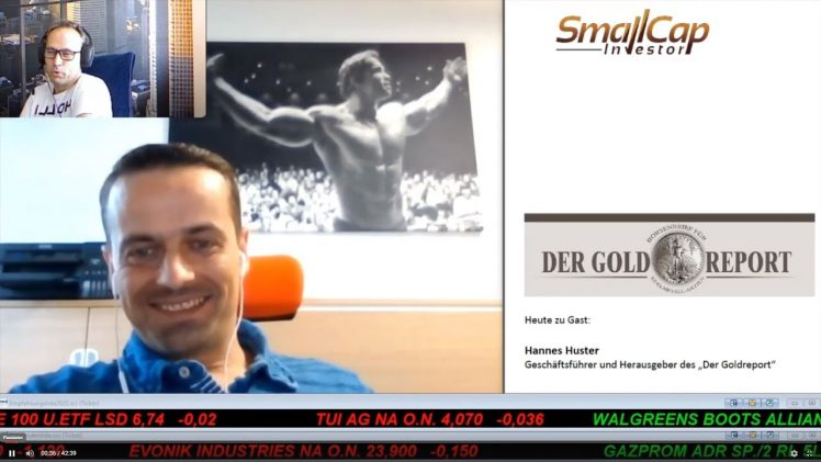 "SmallCap-Investor Interview mit Hannes Huster, Herausgeber des ""Der Goldreport"""
