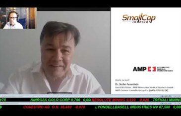 SmallCap-Investor Interview mit Dr. Stefan Feuerstein, President von AMP German Can. (WKN A2PRD0)