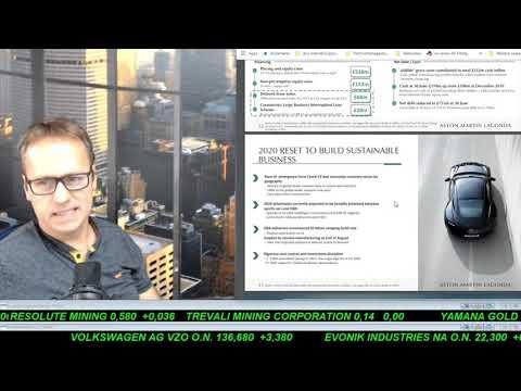 SmallCap-Investor Talk 1082 über DAX, Dow, Gold, Sirona, Bayer, Aston Martin