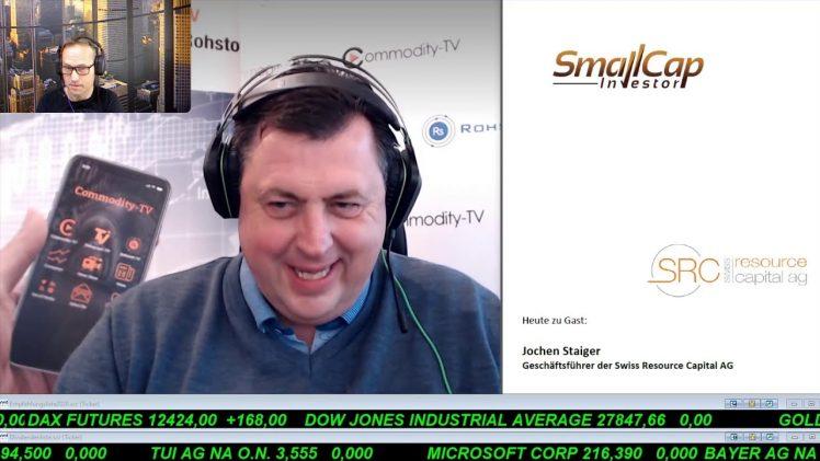 SmallCap-Investor Interview mit Jochen Staiger, Geschäftsführer der Swiss Resource Capital AG