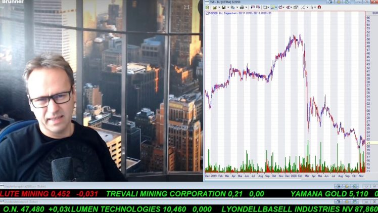SmallCap-Investor Talk 1109 über DAX, Gold, TUI, MoGo, …