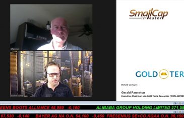 SmallCap-Investor Interview mit Gerald Panneton, Executive Chairman von Gold Terra (WKN A2P0BS)