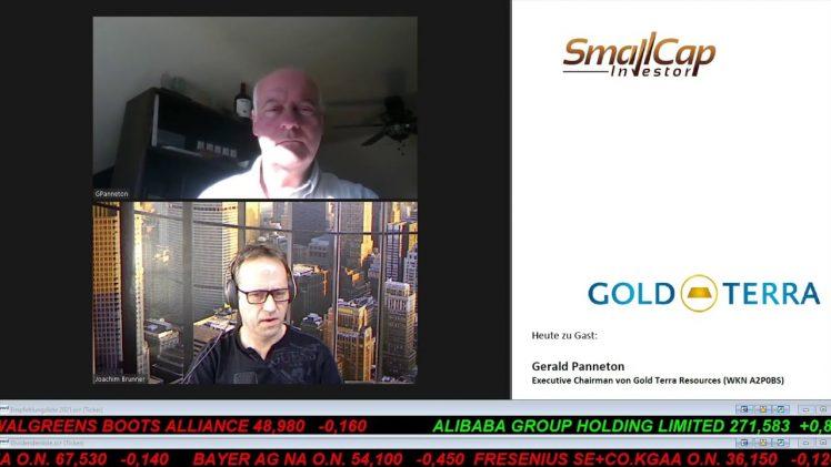 SmallCap-Investor Interview mit Gerald Panneton, Executive Chairman von Gold Terra (WKN A2P0BS)