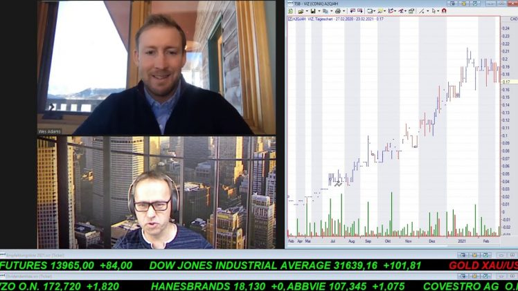 SmallCap-Investor Interview mit Wesley Adams, CEO & Director von Visionary Gold Corp. (WKN  A2QJ4H)
