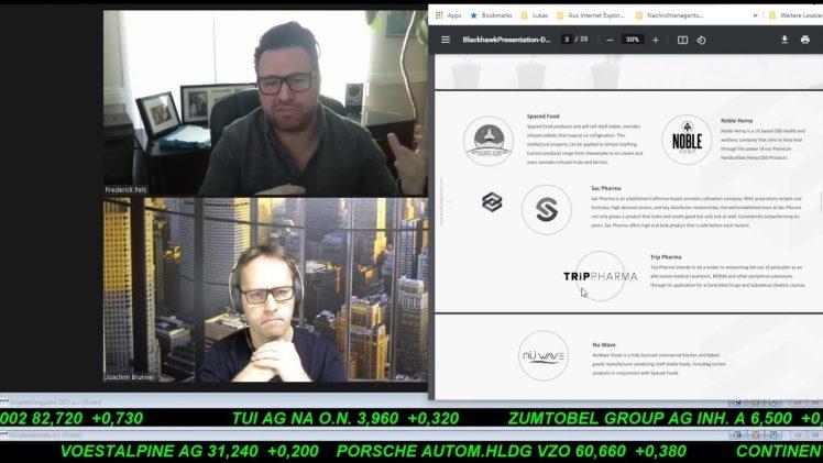 SmallCap-Investor Interview mit Frederick Pels, CEO von Blackhawk Growth Corp. (WKN A2QJN3)