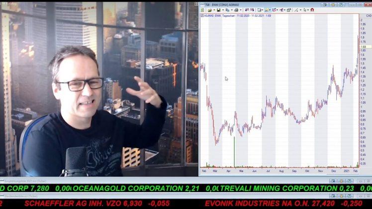 SmallCap-Investor Talk 1143 über DAX, Dow, Gran Tierra, MoGo, …