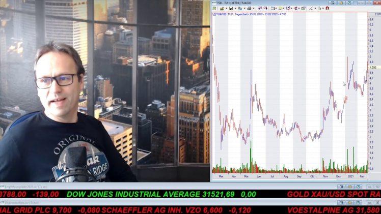 SmallCap-Investor Talk 1147 über DAX, TUI, Kupfer, Zink, Gold Terra