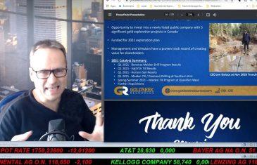 SmallCap-Investor Talk 1149 über DAX, NASDAQ, Gold, Bayer, Tesla, Trevali