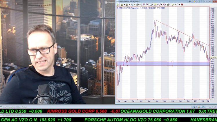 SmallCap-Investor Talk 1153 über DAX, Gold, Dt. Telekom, Medusa, Sirona