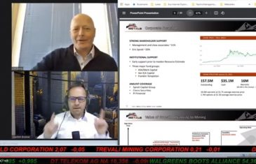 SmallCap-Investor Interview mit Jim Greig, President & Director von Benchmark Metals (WKN A2JM2X)