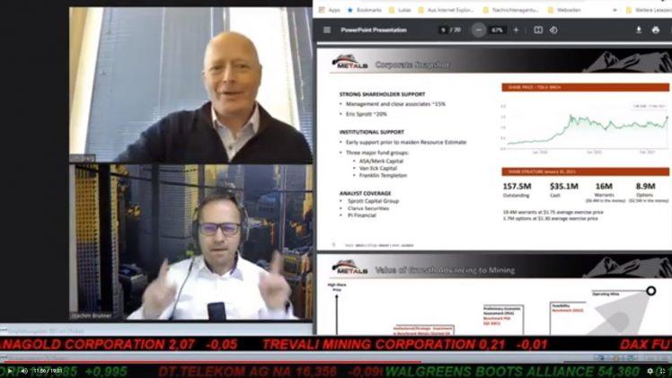 SmallCap-Investor Interview mit Jim Greig, President & Director von Benchmark Metals (WKN A2JM2X)