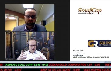SmallCap-Investor Interview mit Jon Deluce, CEO & President von Goldseek Resources (WKN A2P1L9)