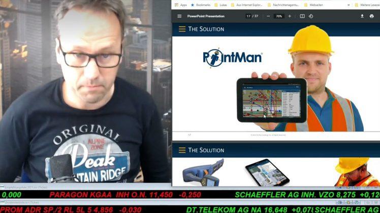 SmallCap-Investor Talk 1161 über DAX, Gold, Gen III, High Tide, Blackhawk, …