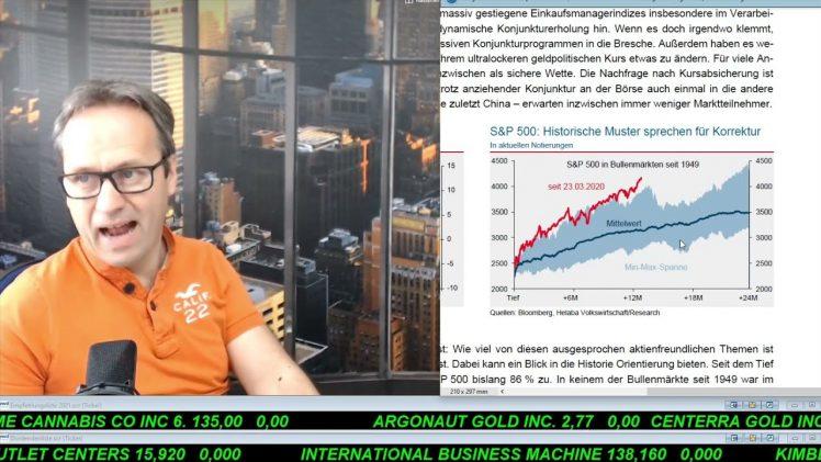 SmallCap-Investor Talk 1168 über DAX, Dow, Tesla, IBM, AMS, Danone