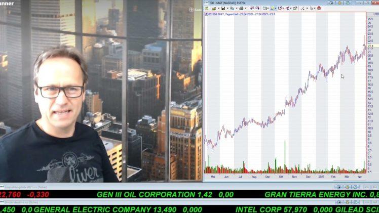 SmallCap-Investor Talk 1171 über DAX, Dow, Nasdaq, Microsoft, Google, Mattel