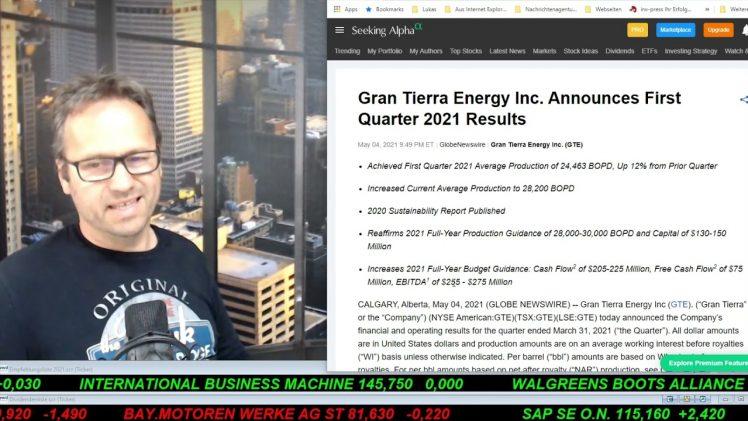 SmallCap-Investor Talk 1172 über DAX, Gold, Gen III, Gran Tierra, Pfizer