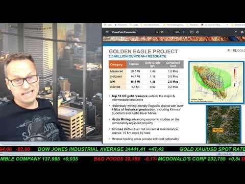 SmallCap-Investor Talk 1180 über Gold, DRDGold, First Mining, Fiore Gold und Orvana