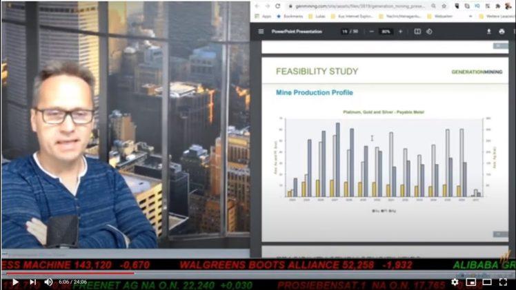 SmallCap-Investor Talk 1181 über Generation Mining, Goldsource, VanGold und Moneta Porcupine
