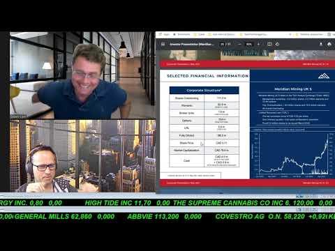 SmallCap-Investor Interview mit Gilbert Clark, Executive Chairman von Meridian Mining (WKN A2DG7M)