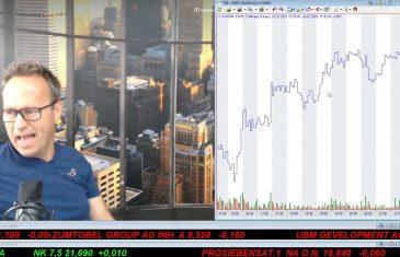 SmallCap-Investor Talk 1200 über DAX, Gold, Öl, Endo, Alibaba, …